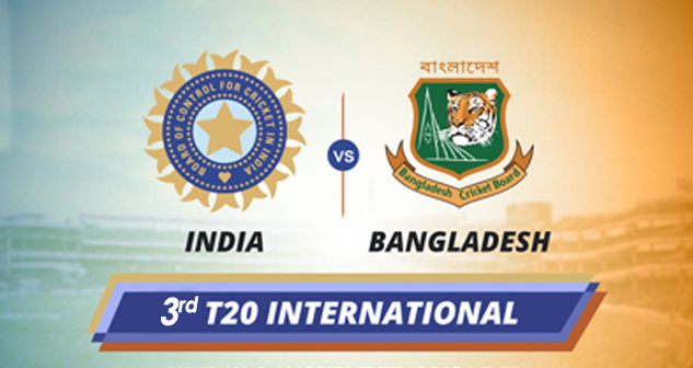 IND vs BAN 3rd T20 2019