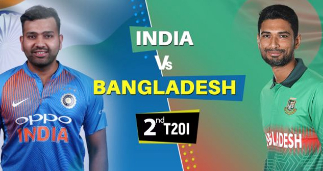 IND vs BAN 2nd T20 2019