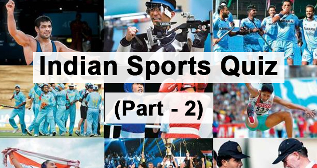 Indian Sport Quiz part-2