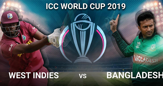 WI vs BAN World Cup