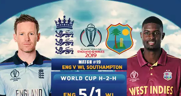 ENG vs WI World Cup