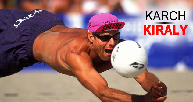 Karch Kiraly ( Volleyball)