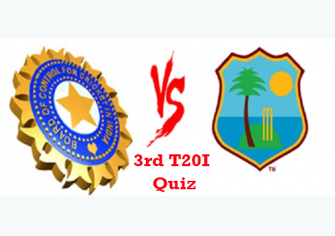 Quiz on Ind vs WI | 3rd T20I