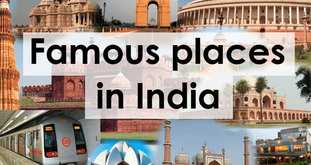 Famous places in india