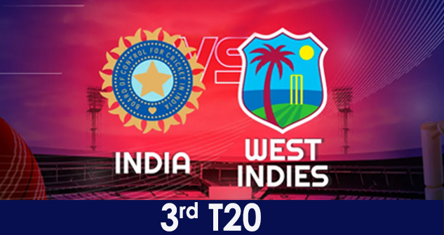 IND vs WI 3rd T20 Dec 2019
